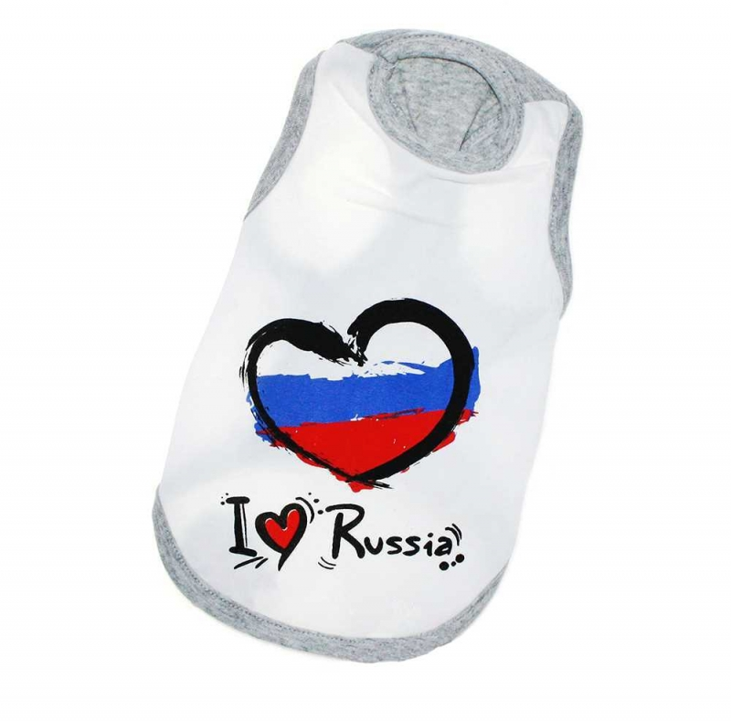 "Маечка ""I love Russia"""
